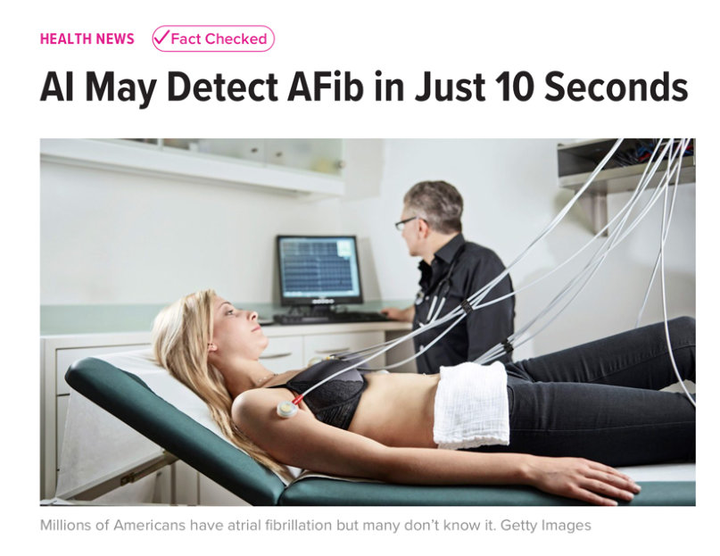 Dr. Anuj Shah Featured on Healthline- How AI May Detect AFib in 10 Seconds