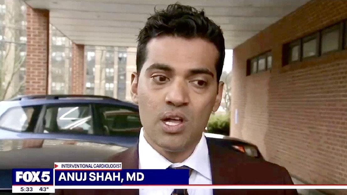 dr Anuj Shah medical expert fox 5 ny